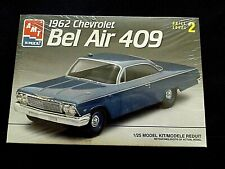 Model Kit 1962 Chevrolet Bel Air 409 Amt 1:25