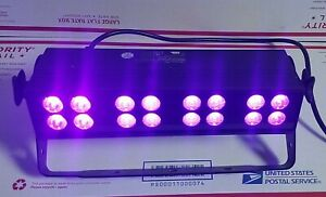 ADJ American DJ / UV LED BAR16 High-Output DMX Blacklight