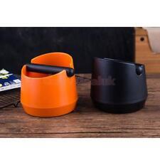 Black+Orange Coffee Knock Container Espresso Box Recycle Holder Tube Grind
