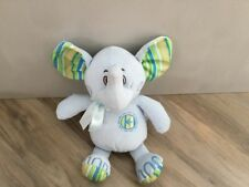 """TEENY ELEPHANT -11"""" SOFT TOY - FREE POSTAGE - CARD FACTORY - FREE POSTAGE - VGC"""