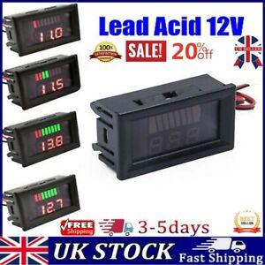 12V Digital Display Plug Car Voltmeter Dual USB Led Meter Voltage Battery Panel