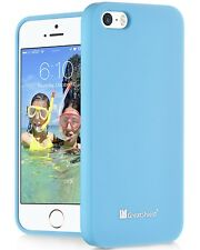 For Apple iPhone SE 5S 5 Sky Blue Hard Slider Bumper Slim PC Case Cover Skin