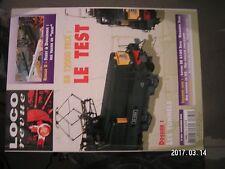 ** Loco Revue n°664 BB 12000 Trix H0 / BB 8100 Roco / Portail tunnel en N