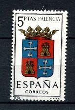 España 1965 SG#1692 brazos de Palencia estampillada sin montar o nunca montada #A23465