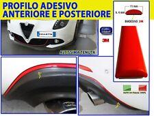 Alfa Romeo Giulietta Tuning Profilo Adesivo Rosso Racing Anteriore e Posteriore