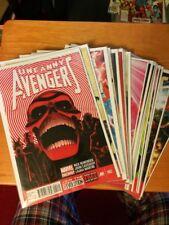 Uncanny Avengers Comic Lot Run Set Marvel Comics #2-18.Now Remender. 18 total NM