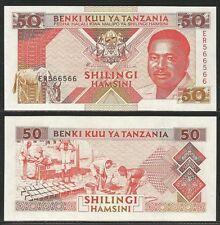 TANZANIA - 50 Shillings 1993 UNC Pick 23