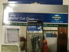 PetSafe Interior 2-way Locking Cat Door for small cat