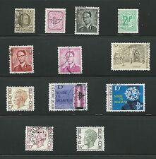 **** Lot  de  timbres   BELGIQUE   Oblitéré  *****