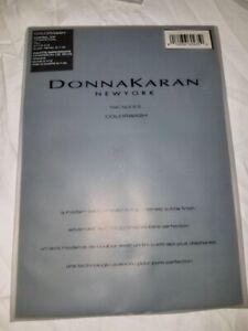Donna Karan Hosiery The Nudes Charcoal TALL  A19 Nylons Pantyhose Colorwash