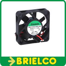 VENTILADOR TERMOPLASTICO 5VDC 1W 40X40X10MM 5800 ROTACIONES/MIN 2 CABLES BD11377