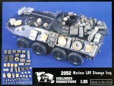 Verlinden 1:35 USMC Marines LAV-25 Stowage Iraq Resin Detail Set #2052