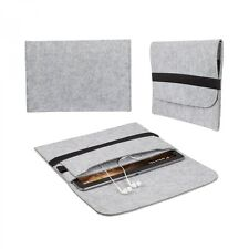 eFabrik Sleeve für Lenovo Miix 310 Schutz Filz Hülle Tasche hellgrau