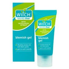 Witch Naturally Clear Blemish Gel 35ml Hazel/Skin/Care/Oil/Pores/Facial/UK/NEW