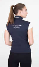CHARLES ANCONA Black Vest Zip Front Equestrian Womens Size XS