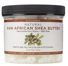 AFRICAN RAW SHEABUTTER - White - 4 lbs