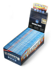 1 box - Elements SINGLE WIDE Double Pack - total 25 booklets