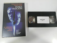 DOBLE TRAICION CINTA TAPE VHS COLECCIONISTA TOMMY LEE JONES ASHLEY JUDD