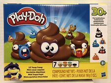 Play-Doh Lil' Poop Troop with 7 cans and 30+ Poo Combinations New Ships Fast