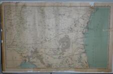 "Original Official Civil War Atlas-29x18"" Georgia/Florida-Savannah-St Augustine"