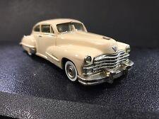 43Rd Avenue 1947 Cadillac 62 Sedanette Enhanced 1:43 Handmade In England