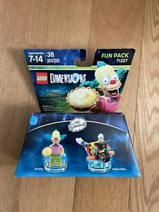 Lego Dimensions The Simpsons Fun Pack 71227 Krusty and Clown Bike New Sealed