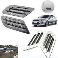 Schwarz/Silber Deko Ventilation Luft-Grill Sport.Look für BMW u.a 01813