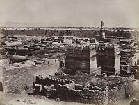 Egitto Edfu Foto Albumina IN Piccolo Formato 9,5x12,5cm Ca 1880