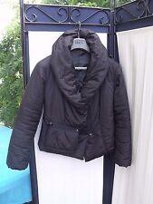 blouson  doudoune femme veste chaude noir T M ou 38/40