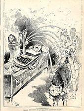 ARGENT DES RENTIERS NON RENDU HUMOUR POLITIQUE 1883