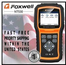 Foxwell NT530 for FIAT Ducato Multi System OBDII Scanner Error Code Reader