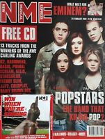 Nme Music Magazine.24 February 2001.Fee Cd.Popstars Cover.Eminem/Muse/Shaggy+