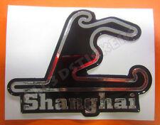 Adesivi Resinati 3D Circuito Shanghai 12x9 cm