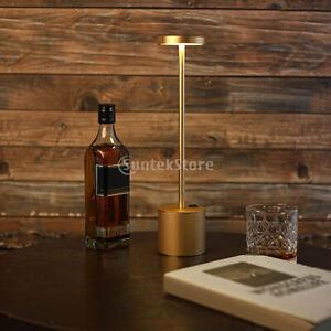Cordless Table Lamp 2-Mode USB Bedroom LED Light Bedside Home Outage Lantern