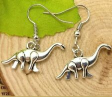 Dinosaur Earrings The Land Before Time Little Foot Dino Birthday Silver Dangle