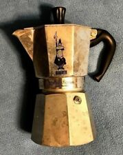 """vintage BIALETTI """"MOKA EXPRESS"""" 6 CUP STOVETOP ESPESSO MAKER ***MISSING 1 PART"""