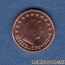 Luxembourg 2012 1 centime D'Euro SUP SPL Pièce neuve de rouleau - Luxembourg