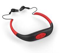 8GB Wasserdicht Halsband Musik MP3-Player Swimming Diving Headphone MP3 Player
