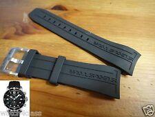 Tissot Diver Seastar 1000 Rubber Band strap 22mm BLK buckle T066 417 ⌀45mm case