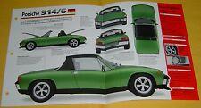 1969 1971 1972 1970 Porsche 914/6 6 Cylinder 1991cc IMP Info/Specs/photo 15x9