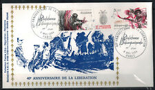 1984 - Fdc-France Libre -Debarquement -Resistance -Liberation - Paris- Yv.T2313a