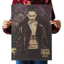Suicide Squad movie Joker Jared Leto poster nursery wall decor