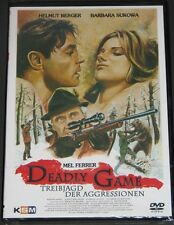 DVD Deadly Game, Helmut Berger, Mel Ferrer, Barbara Sukowa, NEU & OVP