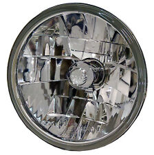 Adjure 7 inch Diamond Cut Ice Motorcycle Headlight