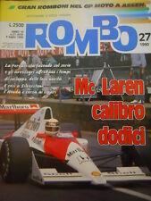 ROMBO 27 1990 Mc Laren preoccupata dalla Ferrari - Rally trofeo FIAT UNO