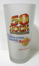 Hard Rock Cafe ® Indianapolis 50 Years Tumbler Glass