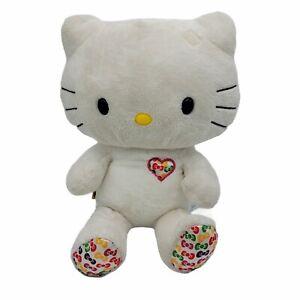 Build-A-Bear: 35th Anniversary Hello Kitty white by Sanrio bows Colors Plush