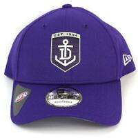 New Era Fremantle Dockers Team 9Forty Hat Genuine Cap In Purple