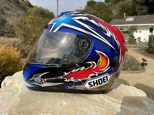 💥shoei helmet X Eleven X11 Norick Abe 2007 Superbike World Champ Helmet(arai,ii