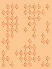 Cuttlebug A2 Embossing folder - Diamonds in Rough 37-1607